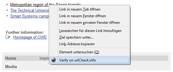 Mozilla Firefox Add-ons - urlCheck.info